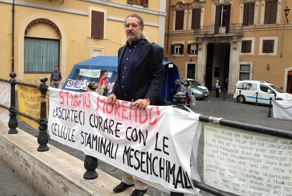 El ahora detenido Davide Vannoni, cuando defendía su tratamiento con células madre de médula ósea.